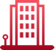 Building icon red-1
