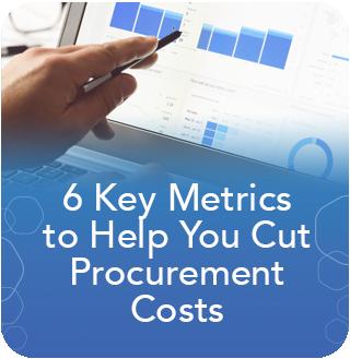 6 Key Metrics to Cut Procurement Costs