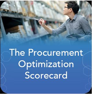 MRO Procurement Optimization Scorecard
